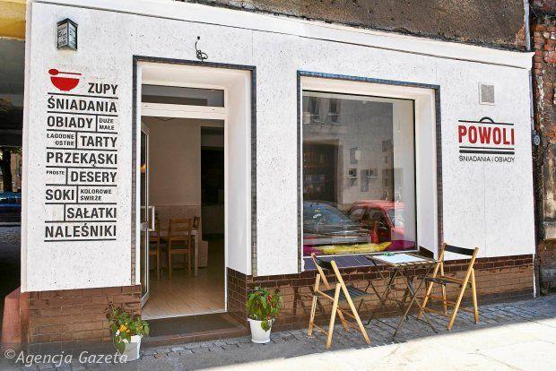 Bar Restauracja POWOLI // Wrocław ul. Rydygiera 25/27