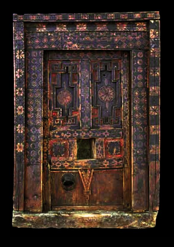 Africa | Door from Ida ou Nadif Morocco | wood | 18th century  sc 1 st  Pinterest & 50 best Doors to Africa images on Pinterest | Windows African art ...
