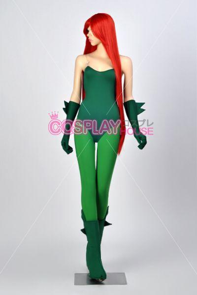 Batman - Poison Ivy Cosplay Costume Version 01, $114.00