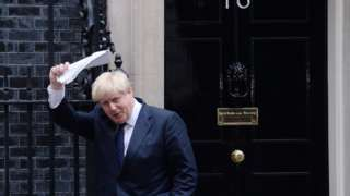 """Image copyright                  PA                  Image caption                                      Boris Johnson was quoted as saying the UK was likely to leave the EU customs union                                Boris Johnson is offering Britain a vision of life outside the EU that is """"intellectually impossible"""", a leading European finance minist"""