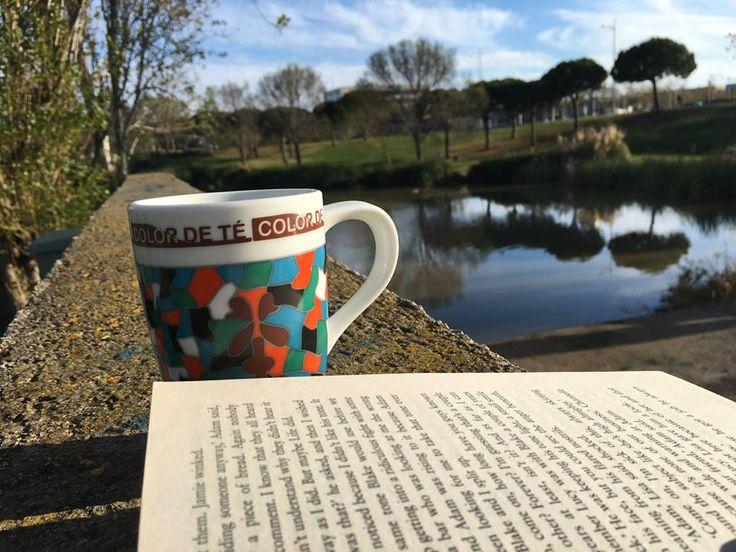El arte del descanso es una parte del arte de trabajar - John Steinbeck- #descanso #relax #work #trabajar #té #tea #colordetñe