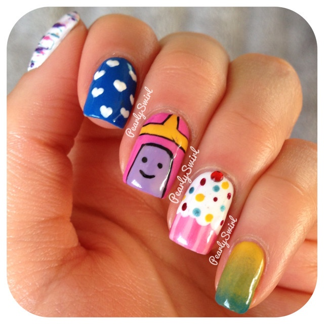 Nail Girl Games: 62 Best Princess Bubblegum Images On Pinterest