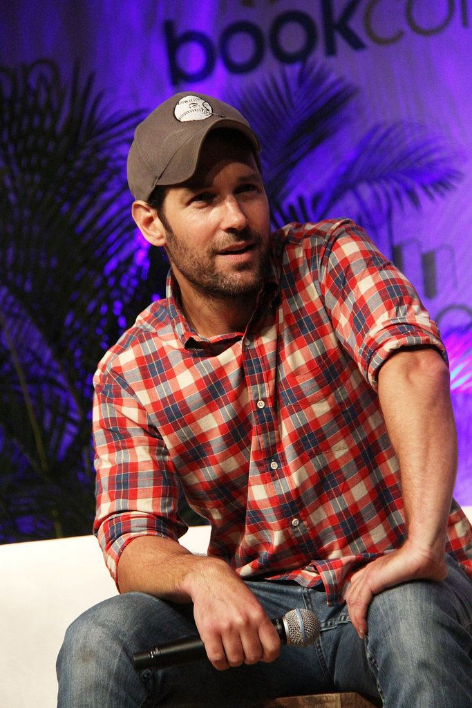 Seriously, though, how hot does Paul Rudd look in a baseball hat? (Answer: Really, really hot.)