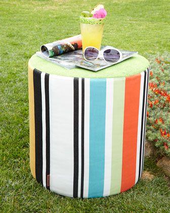 Missoni Home Collection Olivan Stripe Pouf