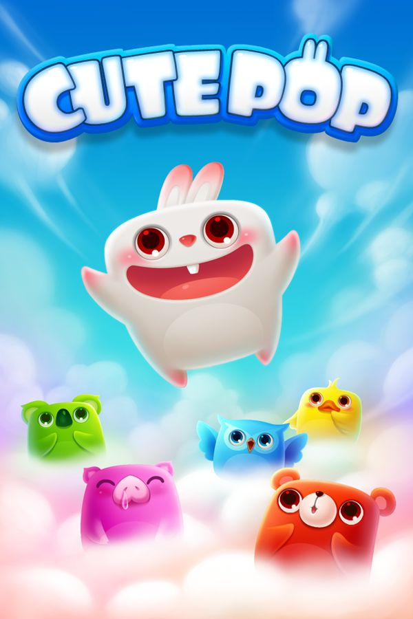 cute pop (iphone game) by feng coco, via Behance