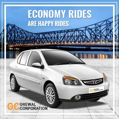 Economy Car Rental -  Minimum charge ₹1120.00 only