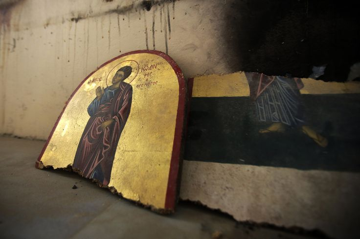 ~ So Very Sad on so Many different reasons -- Syria Conflict Destroys Religious Sites And Icons