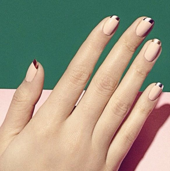 When you want to spice up your nails, you'll probably paint them a bold color or add an unusual twist to a French manicure.