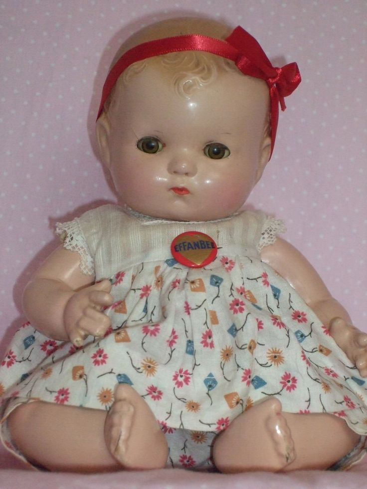 "~ 'Effanbee' Composition ""Patsy"" Baby Doll ~ (1930's)"