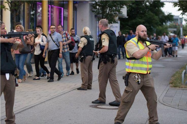 Pelaku Teror Munich Diduga Berkebangsaan Iran-Jerman