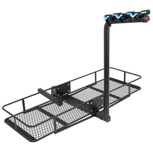 Apex Blue Devil Steel Basket Cargo Carrier Amp Hitch Bike
