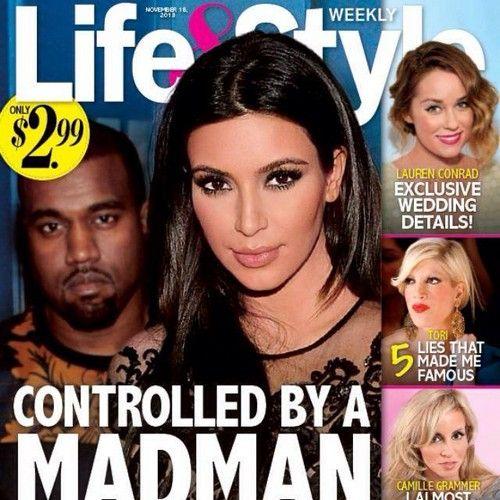 "Kim Kardashian Controlled By ""Madman"" Kanye West: Is Kim In Danger? (PHOTO) #KimKardashian"