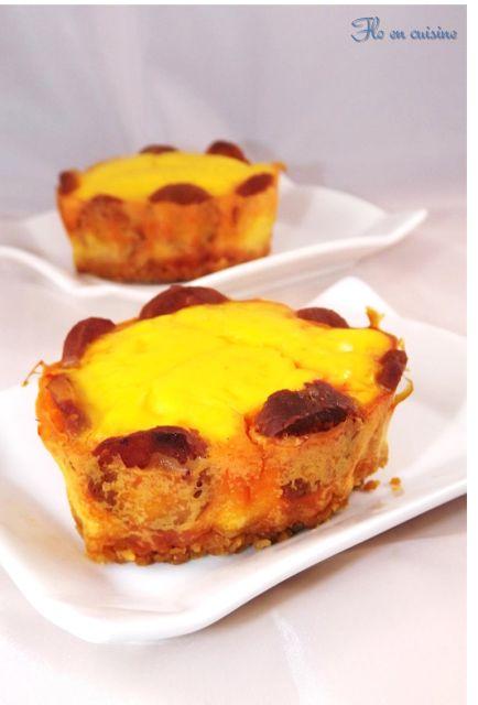 Flo en cuisine: Cheesecake potimarron/chorizo