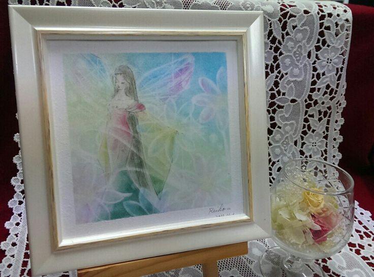 今日描いたパステルアート作品 アート詳細はアメブロでhttp://ameblo.jp/re-dream