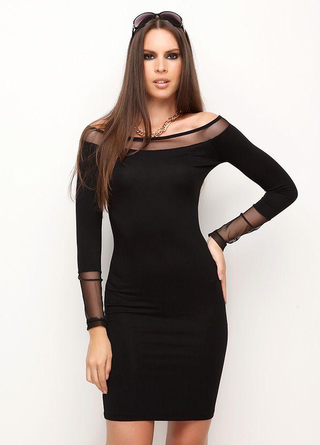 cool Tül aksesuarlı elbise Markafoni'de 100,00 TL yerine 39,99 TL! Satın almak için: http://www.markafoni.com/product/4728634/ #markafoni #fashion #instafashion #style #stylish #look #photoshoot #design #designer #bestoftheday #black #girl #model #beautiful #dress