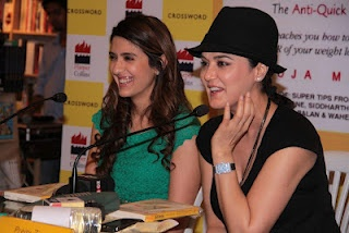 """Preity Zinta Launches The Book """"Eat Delete"""" 