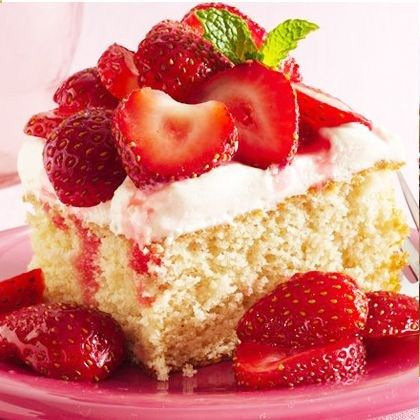 The Ultimate Strawberry Shortcake Recipe from GLORIOUS GOODIES .
