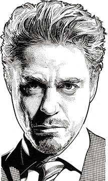 Wall Street Journal Hedcuts by Randy Glass, via Behance -- so many to pick from!