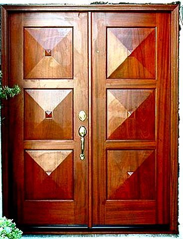 31 best Portes en bois images on Pinterest Front doors, Modern