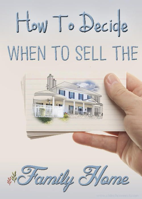 Homes for Sale Chatham Ontario. Deb Rhodes Royal LePage | How to Decide When to Sell the Family Home