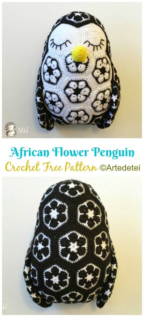 10 Crochet Penguin Amigurumi Free Patterns Crochet Penguin