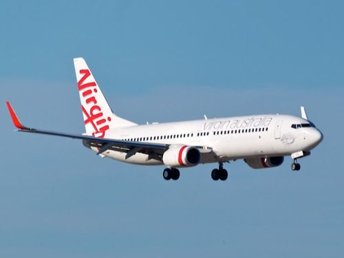 Virgin Australia 737-800 Type: Boeing 737-81D Registration: VH-YFC Location: Brisbane International Airport Date: 11/07/2011