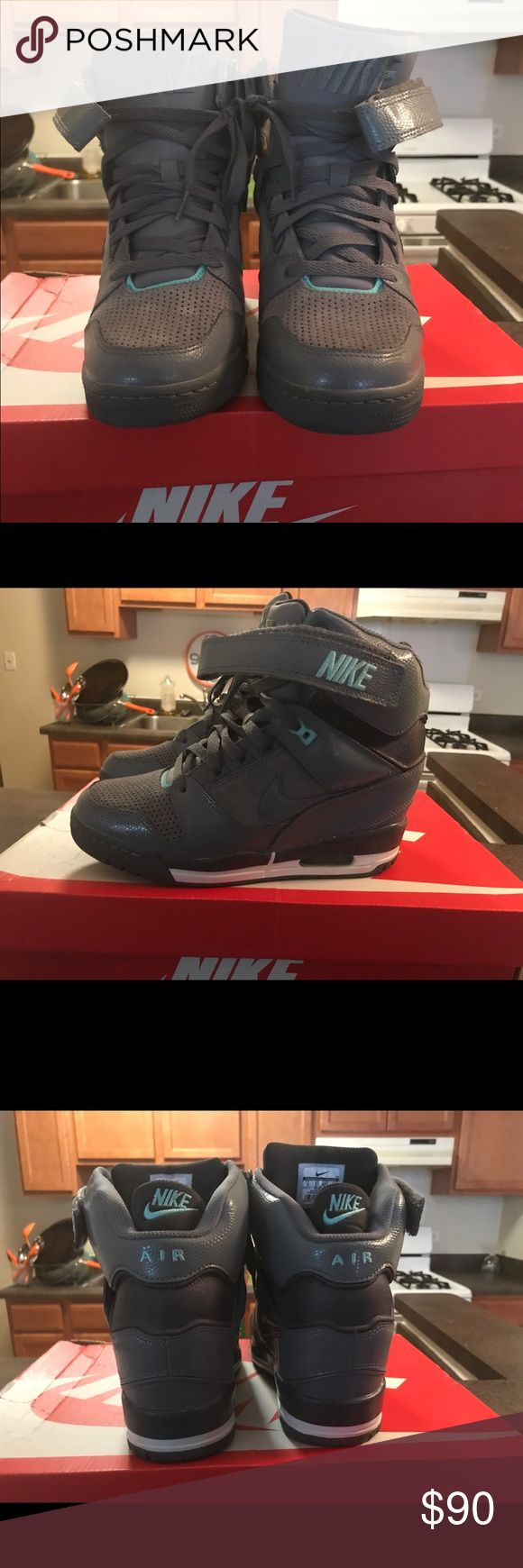 Nike sky hi dunk limited edition In Excellent condition Nike Shoes Athletic Shoes