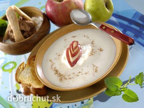 Polievka z jabĺk -  Jablká pokrájame na plátky, vložíme do vriacej vody, pridáme klinčeky, celú škoricu a varíme, až kým jablká nezmäknú...