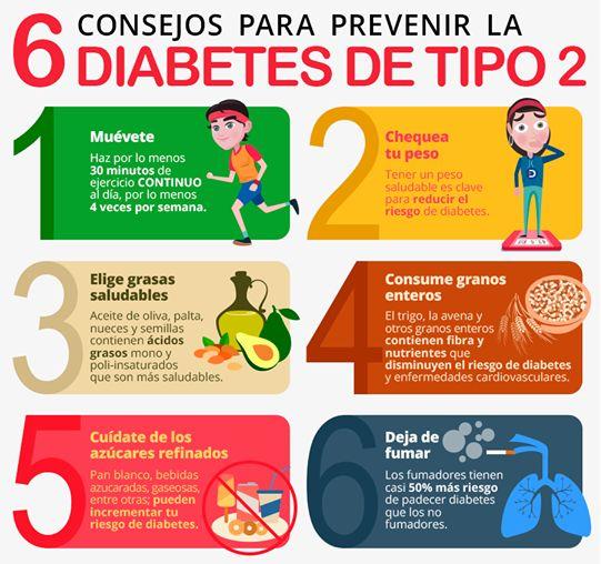 Con una buena alimentación, vamos a prevenir las complicaciones de la Diabetes tipo 2