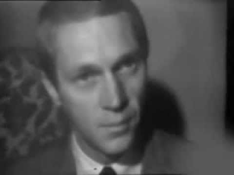 Steve mcqueen interview in paris 1964 youtube other video from