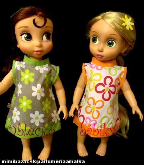 Letné šatôčky na bábiky Animators