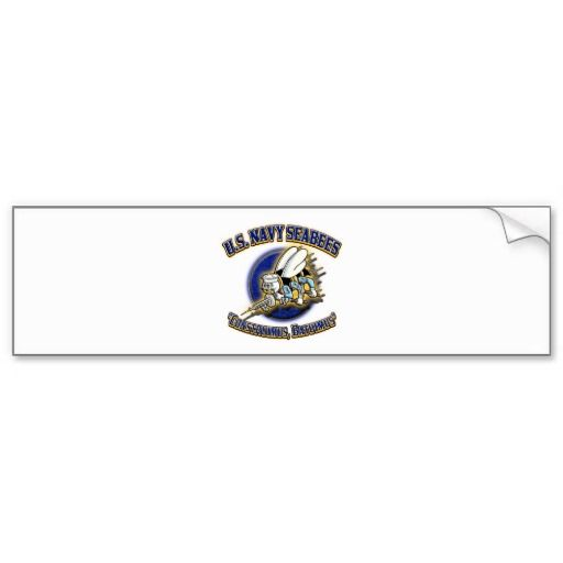 Us navy seabees bumper stickers