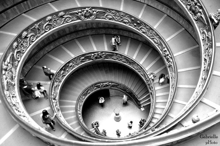 Roma museum stairs, architecture