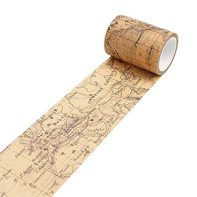 Vintage Washi Tape Decorative Paper Masking Tape DIY Adhesive Scrapbook Sticker