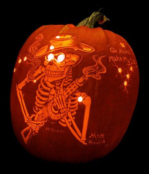 56 best halloween stencils images on pinterest halloween for Skeleton pumpkin pattern