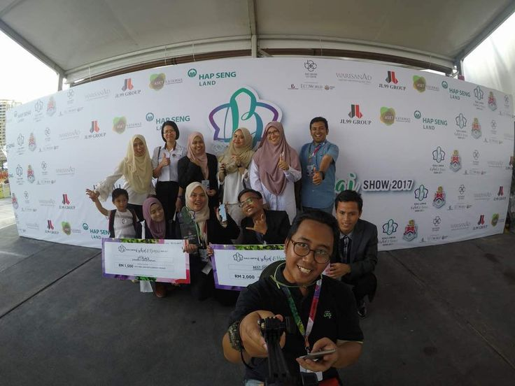 Landscape Architecture Students Won 1ST and 2nd Prize in Kuala Lumpur Orchids Competition | Photos