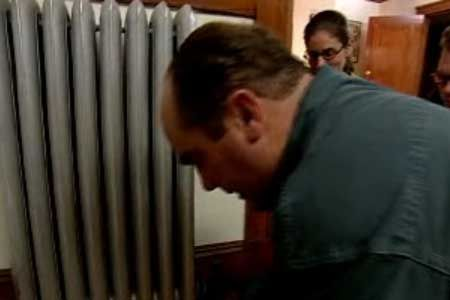 All these years I've been suffering through my radiators whistling when it's THIS easy to fix???   Plumbing and heating contractor Richard Trethewey | thisoldhouse.com | from How to Maintain a Steam Radiator