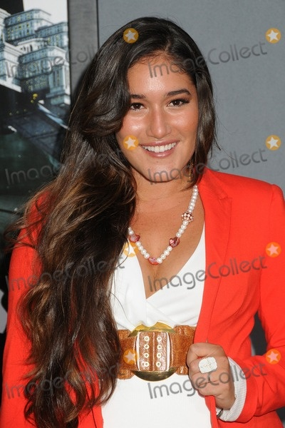 """1 August 2012 - Hollywood, California - Q'orianka Kilcher. """"Total Recall"""" Los Angeles Premiere held at Grauman's Chinese Theatre. Photo Credit: Byron Purvis/AdMedia"""