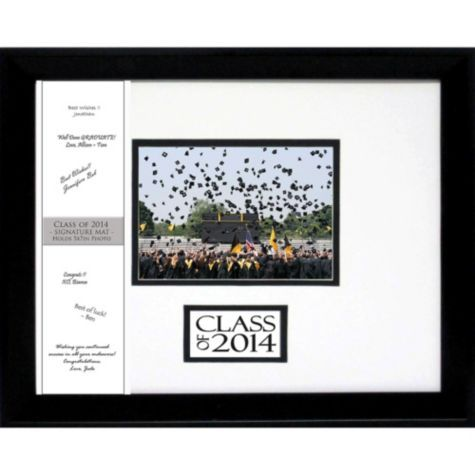 2014 autograph graduation photo frame 12 12in x 15 12in party