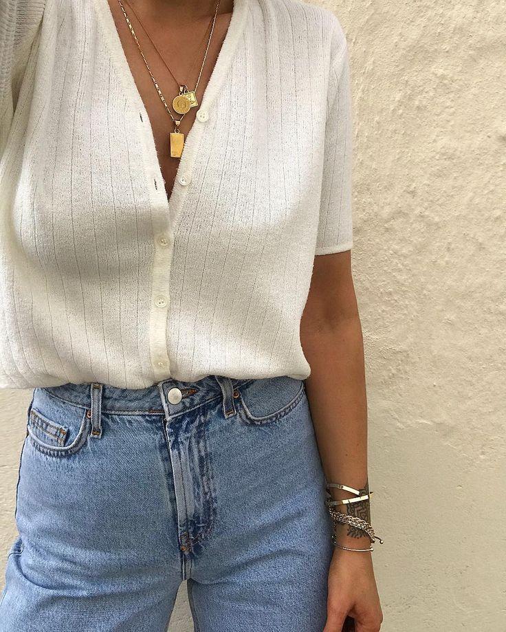 """25 + › monique agar auf Instagram: """"Ich werde es immer lieben Vintagefunde mit erschwinglicher Mode und viel Schmuck zu mischen …"""