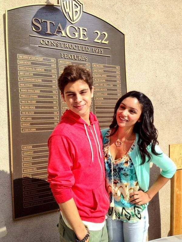 Jake Austin and Bianca Santos from The Fosters