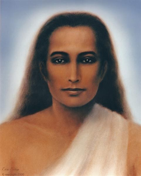 One of the best-known images of Mahavatar Babaji, painted by Eric Estep in 2000. Available as a fine art print.