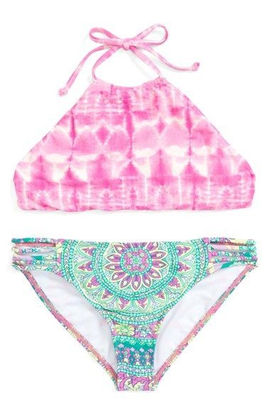 Billabong 'Surf Friends' Two-Piece Swimsuit (Big Girls) available at #Nordstrom