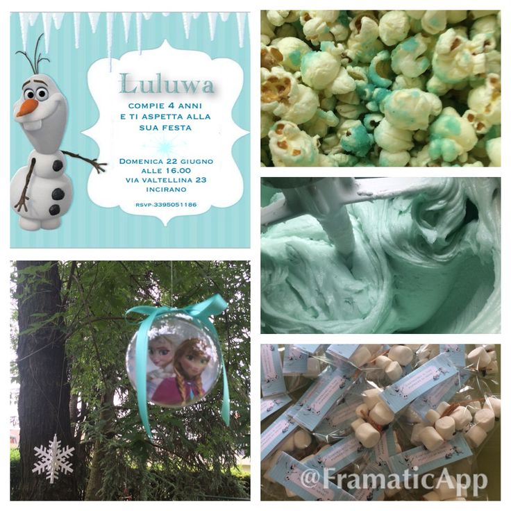 Frozen Birthday Party in the making