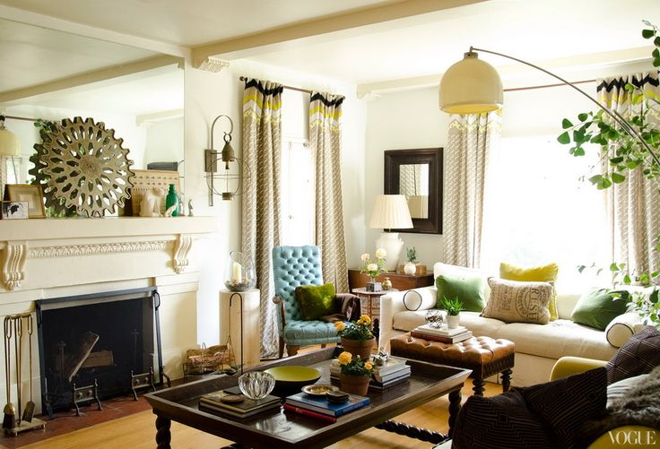 colors...neutrals with black, green & turquoise...
