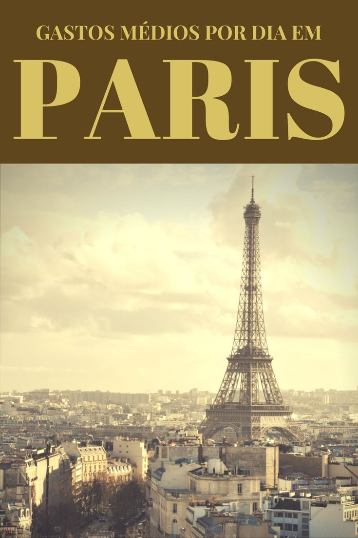 Quanto custa viajar para Paris? Veja aqui os gastos médios por dia, tanto para quem vai no esquema mochileiro, para quem procura charme e conforto, ou para quem deseja luxo. Descubra os preços de Paris e planeje-se melhor!
