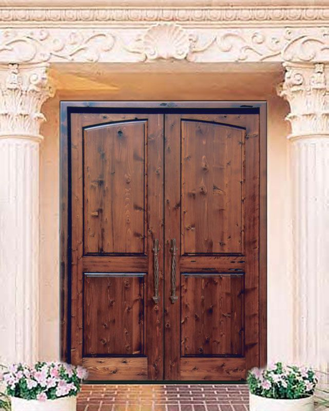 25 best ideas about wood front doors on pinterest entry for Basement double door
