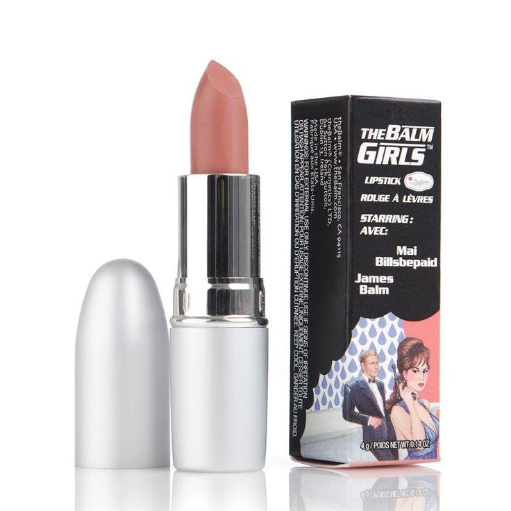 The Balm Girls Lipsticks Mai Billsbepaid Nude 4 g | Sveriges skönhetsbutik på…