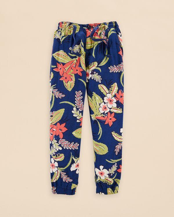 Ralph Lauren Childrenswear Girls' Floral Print Pants - Sizes 2-6X