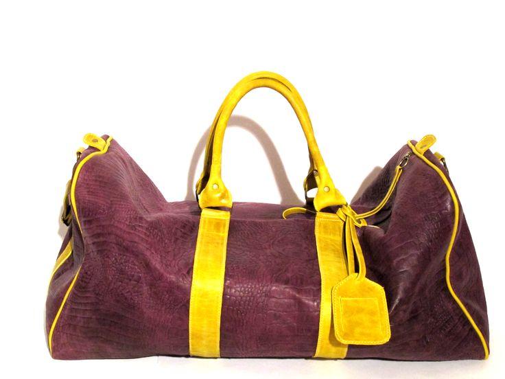 Modelo bolso de viaje